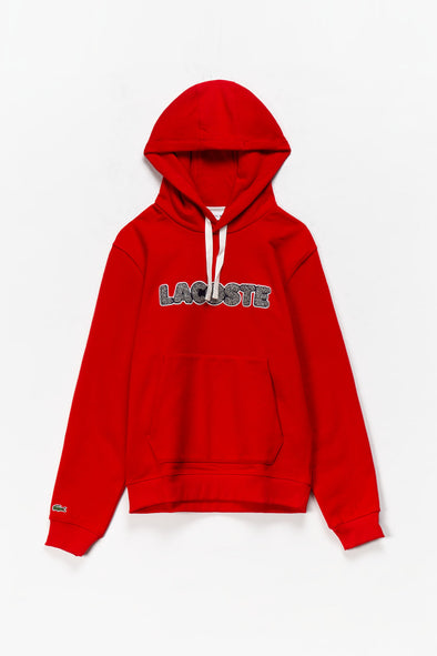 Lacoste Logo Pullover Hoodie - Rule of Next Apparel