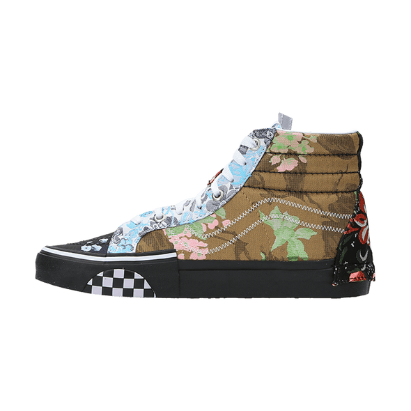 Vans Women's Sk8-Hi Reissue Cap 'Florals' - Rule of Next Footwear