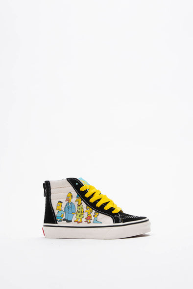 The Simpsons x Kids Sk8-Hi Zip (PS)