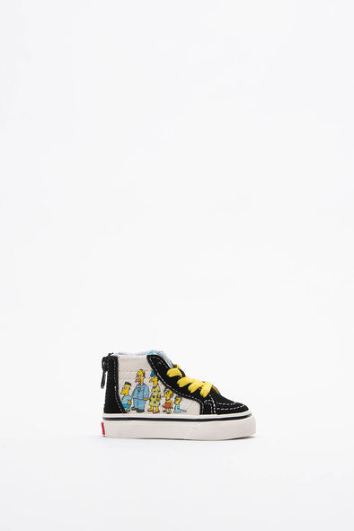 Vans The Simpsons x Sk8-Hi Zip (TD) - Rule of Next Footwear
