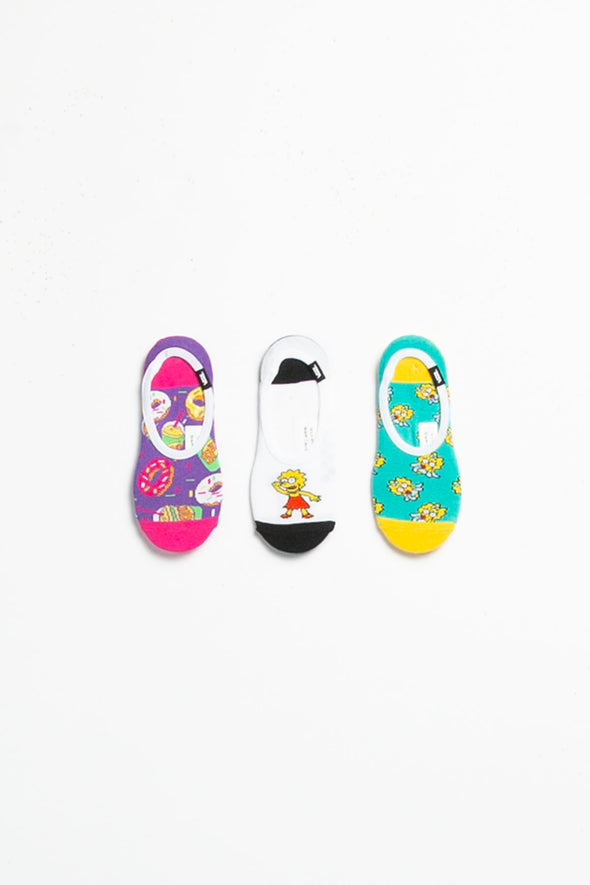 Vans The Simpsons x Women's Canoodles Socks - Rule of Next Accessories