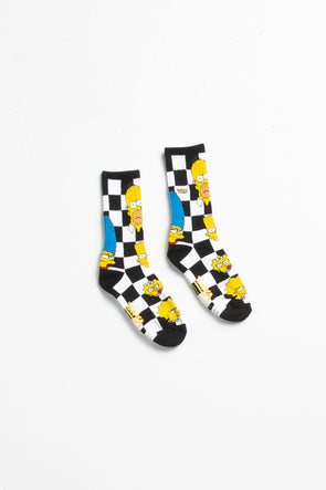 Vans The Simpsons x Boys Crew Socks - Rule of Next Accessories