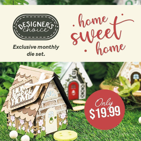 Designer's Choice 17 - Home Sweet Home Gift Box