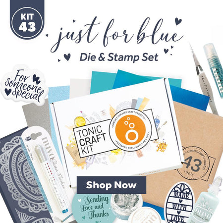 Tonic Craft Kit 43 - Just For Blue