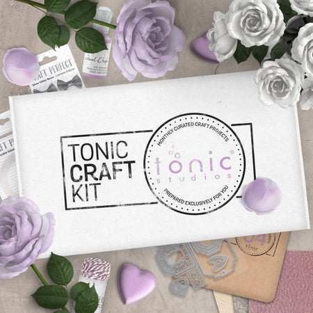 Tonic Craft Kit 04 - Voilet Waterfall - Inspiration