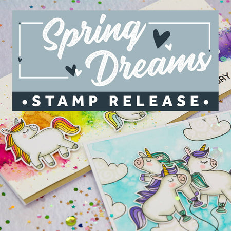 Spring Dreams Stamp Release - Online Party