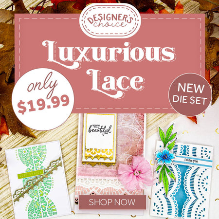 Designer's Choice 13 - Luxurious Lace Strip Die Set