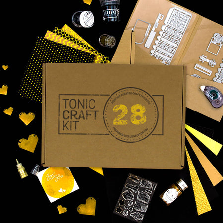 Tonic Craft Kit 28 - Heart of Gold - Inspiration