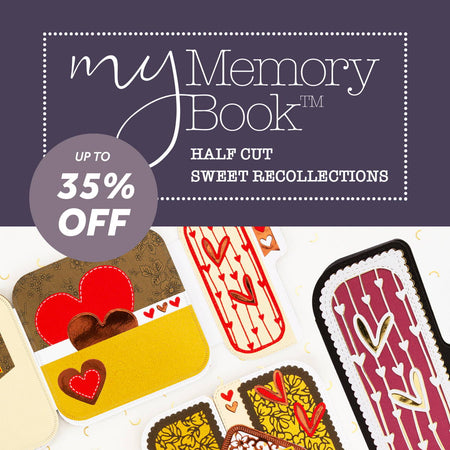 My Memory Book - Half Cut Sweet Recollections