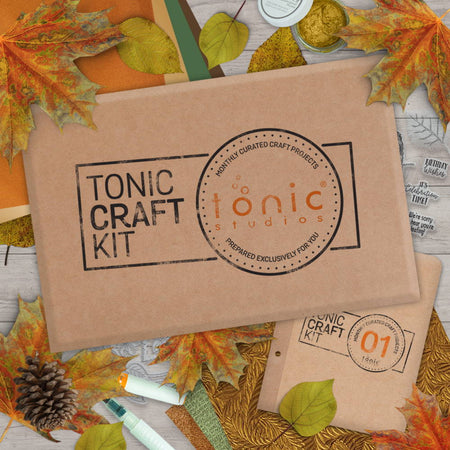 Tonic Craft Kit 01 - Autumnal Walk