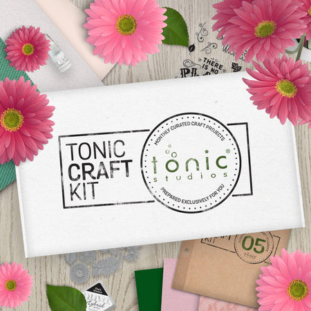 Tonic Craft Kit 05 - Floral Garden - Inspiration