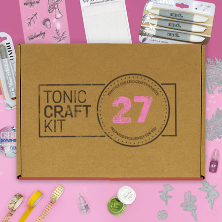 Tonic Craft Kit 27 - Fairy Frames - Inspiration