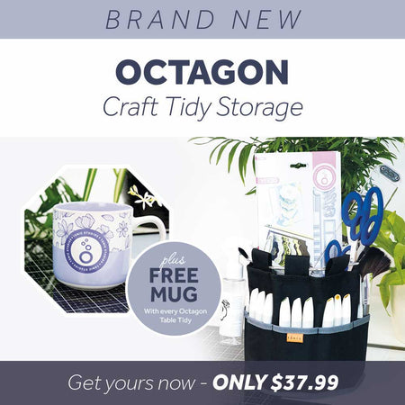 Brand New - Craft Tidy - Octagon