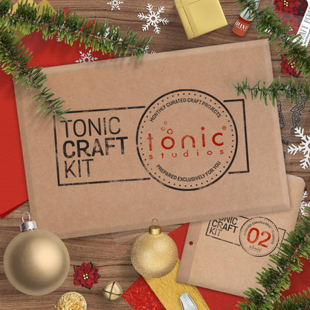 Tonic Craft Kit 02 - Holly Season - Inspiration
