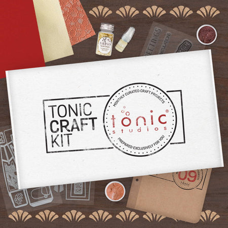 Tonic Craft Kit 09 - Deco Gift Bag - Inspiration