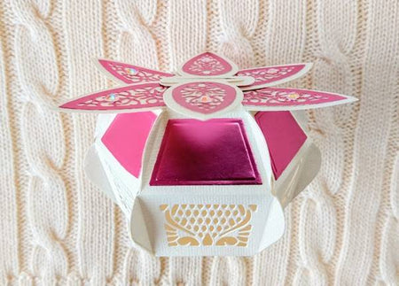 Designer's Choice 15 Delicate Daisy Gift Box With Ruth Hamilton