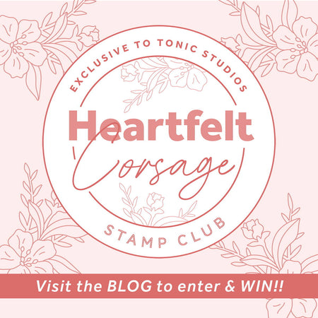 Stamp Club - Heartfelt Corsage - Blog Hop