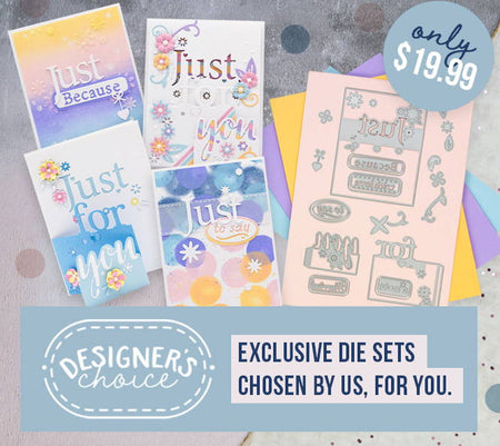 Designers Choice 4 - Just For You Tri-Fold Inspiration