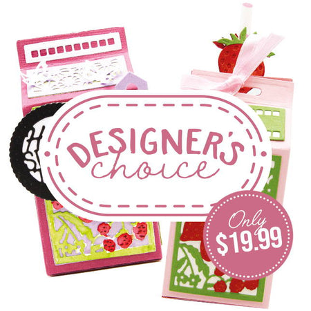 Designer's Choice 12 - Back To School Drinks Carton Die Set