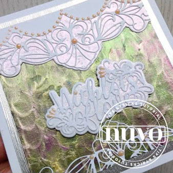 Nuvo Dream Drops Card Tutorial With Ruth Hamilton