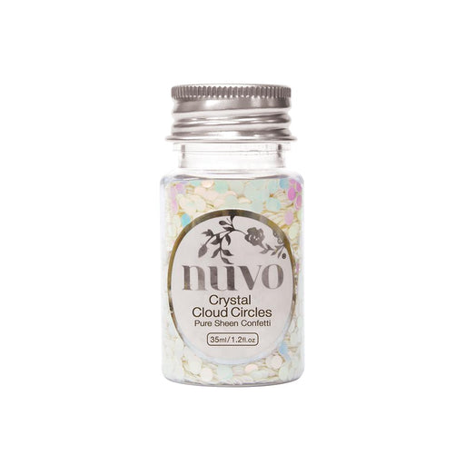 Nuvo - Confetti - Crystal Cloud Circles - 35ml Bottle - 1064n - tonicstudios