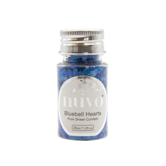 Nuvo - Confetti - Bluebell Hearts - 35ml Bottle - 1070n