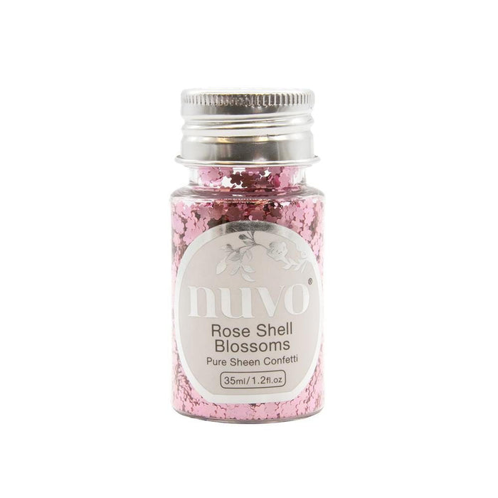 Nuvo - Confetti - Rose Shell Blossoms - 35ml Bottle - 1071n