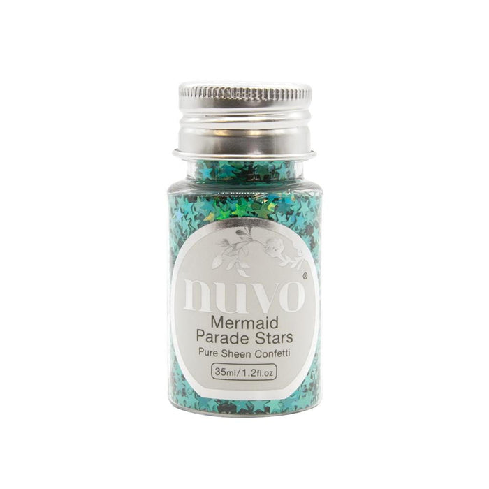 Nuvo - Confetti - Mermaid Parade Stars - 35ml Bottle - 1072n - tonicstudios