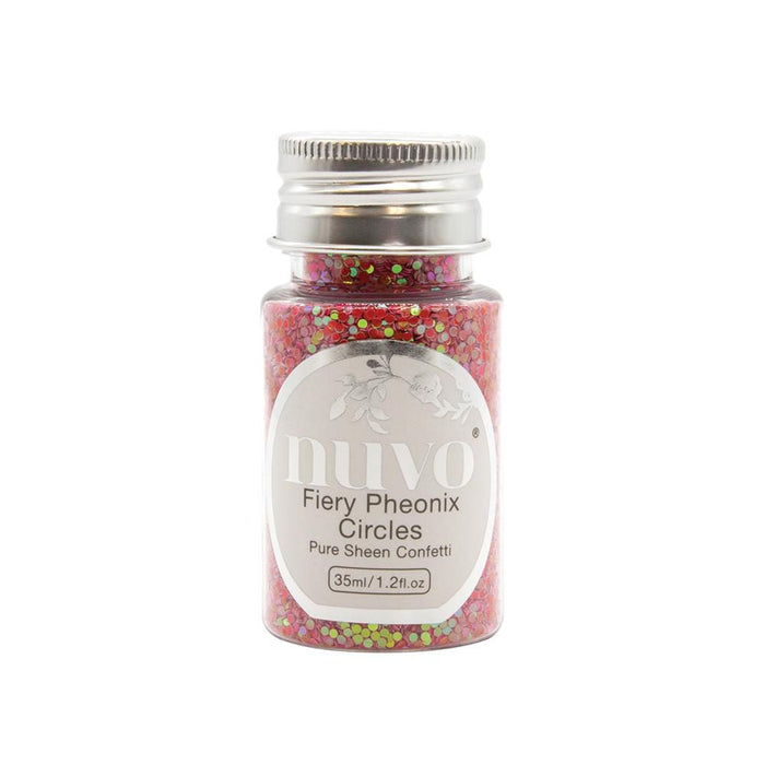 Nuvo - Confetti - Fiery Phoenix Circles - 35ml Bottle - 1073n - tonicstudios