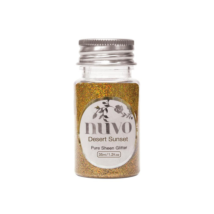 Nuvo - Pure Sheen Glitter - Desert Sunset - 35ml Bottle - 1100n - tonicstudios