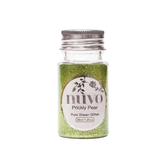 Nuvo - Pure Sheen Glitter - Prickly Pear - 35ml Bottle - 1102n - tonicstudios