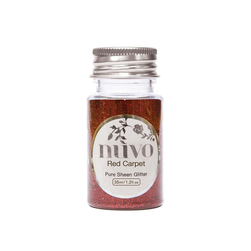 Nuvo - Pure Sheen Glitter - Red Carpet - 35ml Bottle - 1103n - tonicstudios