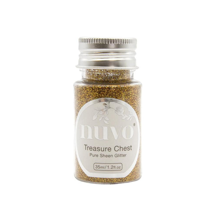 Nuvo - Pure Sheen Glitter - Treasure Chest - 1113N