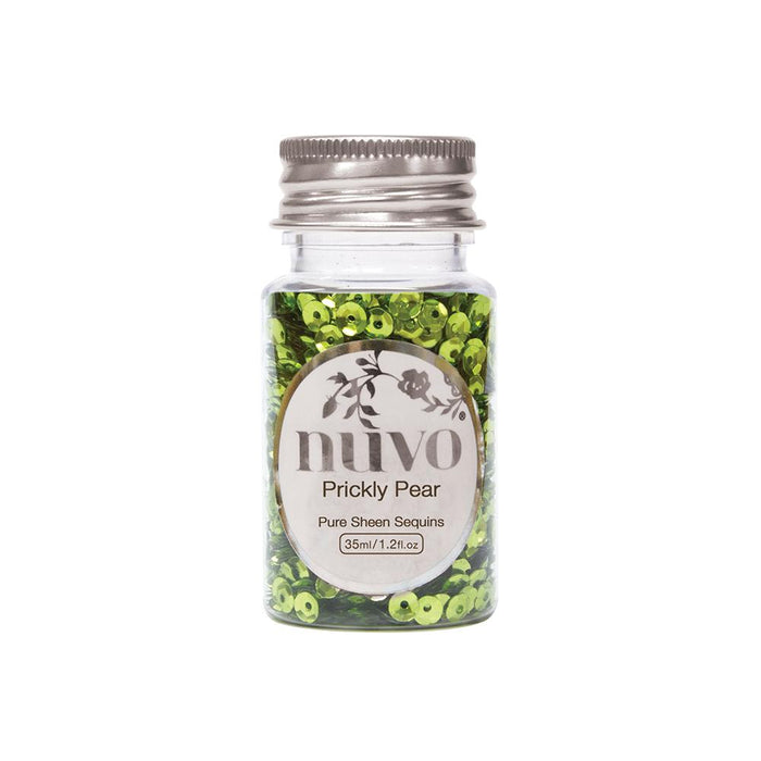Nuvo - Sequins - Prickly Pear - 35ml Bottle- 1140n - tonicstudios