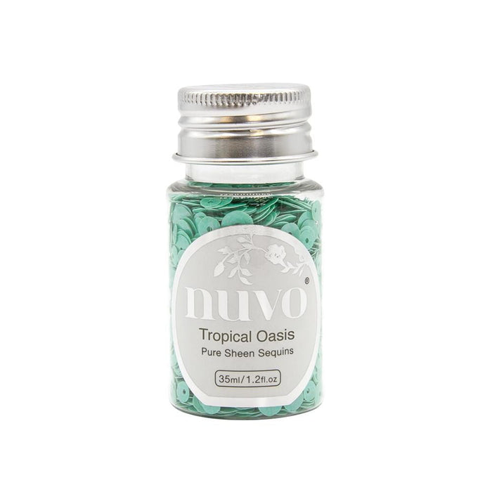 Nuvo - Sequins - Tropical Oasis - 35ml Bottle - 1147n