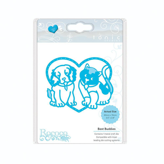 Tonic Studios - Rococo Pampered Pets - Best Buddies Die Set - 1185e