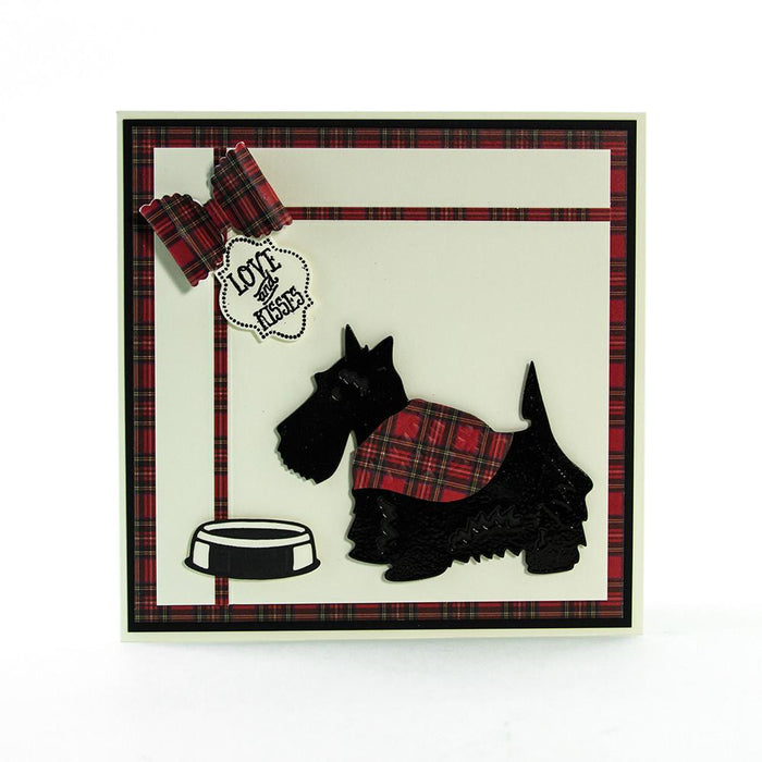 Tonic Studios - Rococo Pampered Pets - Scotty Dog Die Set - 1188e
