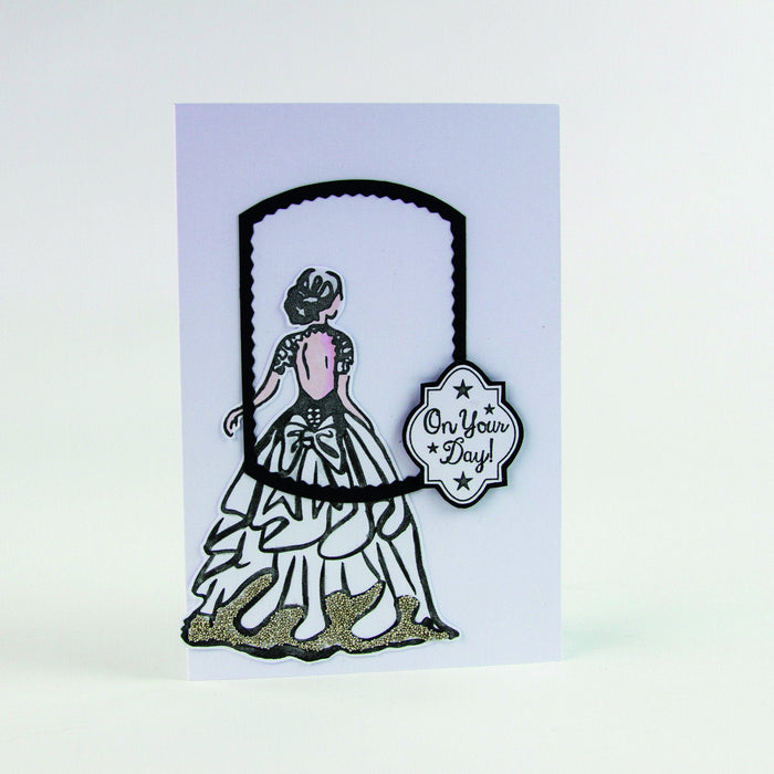 Tonic Studios - Belle Boutique Stamp Set - Sweet Sashay - 1208E - tonicstudios