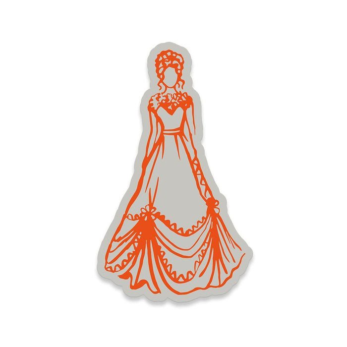 Tonic Studios - Belle Boutique Stamp Set - Debutante Ball - 1210E - tonicstudios
