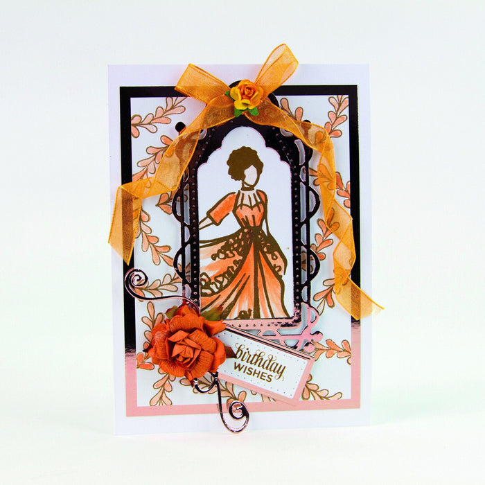 Tonic Studios - Belle Boutique Stamp Set - True Flamenco - 1212E - tonicstudios