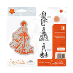 Essentials - Belle Boutique Stamp Set - True Flamenco - 1212E