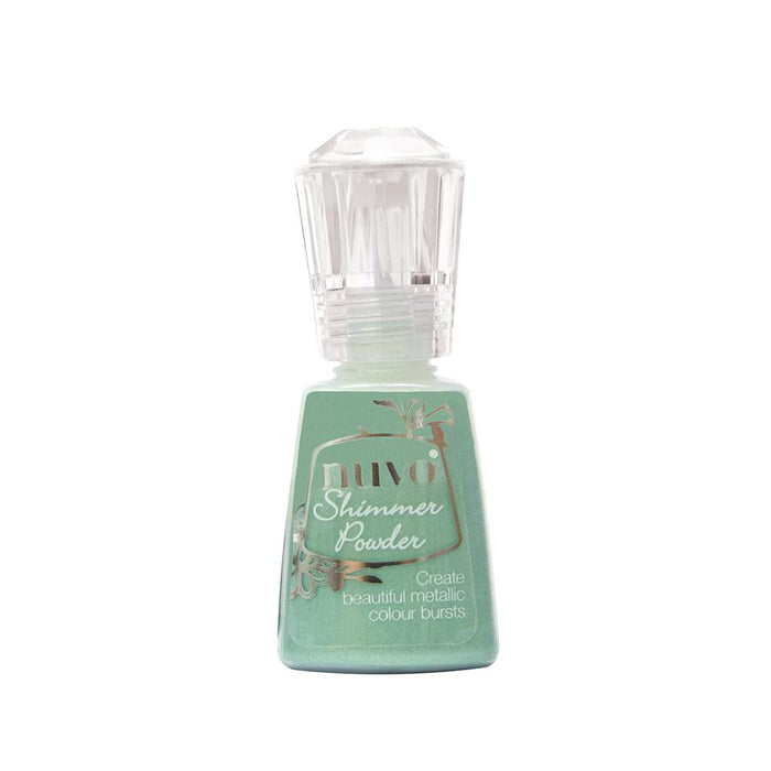 Nuvo - Shimmer Powder - Green Parade - 1214n - tonicstudios