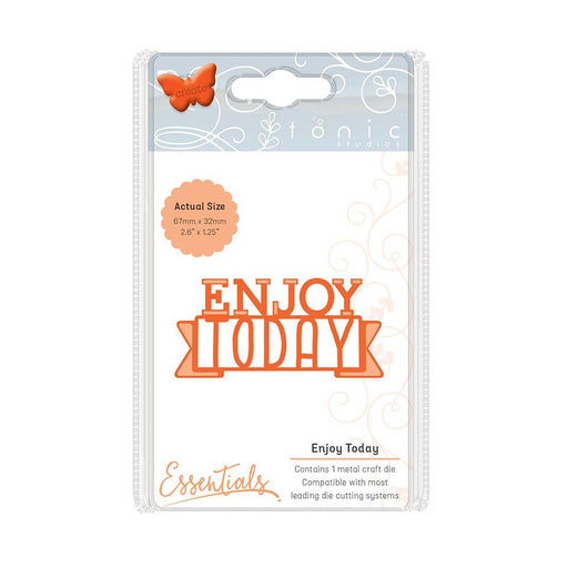 Tonic Studios - Miniature Moments - Enjoy Today Die Set - 1247e