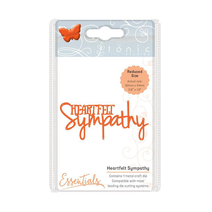 Tonic Studios - Miniature Moments - Heartfelt Sympathy Die Set - 1249e