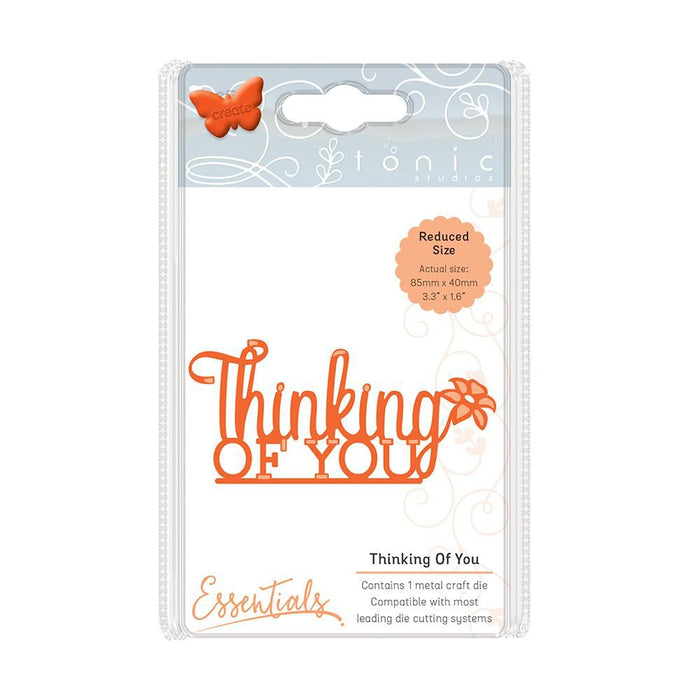 Tonic Studios - Miniature Moments - Thinking of You Die Set - 1255e