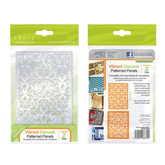 Tonic Studios - Patterned Panels - Vibrant Damask - 1330E