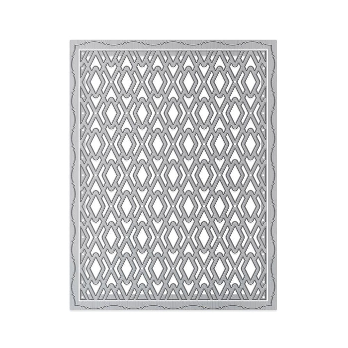 Tonic Studios - Patterned Panels - Deco Diamond Die Set - 1331e