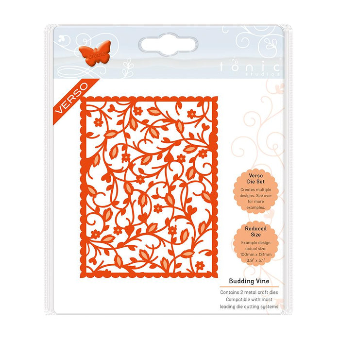 Tonic Studios - Budding Vine - Floral Blooms Die Set - 1334e
