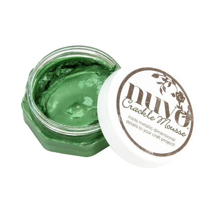 Nuvo - Crackle Mousse - Chameleon Green - 1395n
