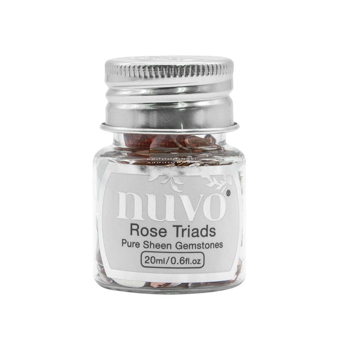 Nuvo - Pure Sheen Gemstones - Rose Triad - 1407n